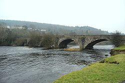 Pont Corwen in January - Geograph - 1681056.jpg