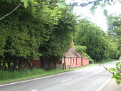Roadside cottage at Newstead near Leadburn - Geograph - 1394573.jpg