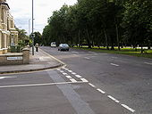 The Avenue heading into the city centre - Geograph - 947740.jpg