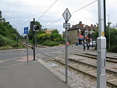 North of Addiscombe tramstop - Geograph - 1347192.jpg
