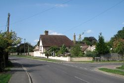 Haslingfield- at the corner of High Street and Wisbeys Yard - Geograph - 4154682.jpg