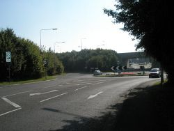 Looking from Warblington towards the Emsworth Bypass - Geograph - 982333.jpg