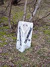 Milestone on old A9 between Newtonmore and Dalwhinnie (4 and 6) - Coppermine - 11217.JPG