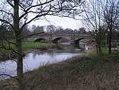 River Trent approaching Wolseley Bridge looking North East - Geograph - 324574.jpg