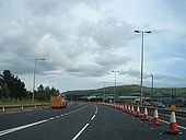 Slip Road at Junction 4 of the M2 - Geograph - 504254.jpg