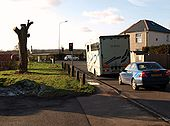 B2029 at end on the A22.JPG