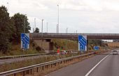 M11 junction 8 - Geograph - 1487489.jpg