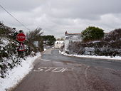 The road junction known as Two Pots - Geograph - 1650968.jpg