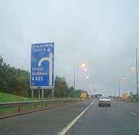 A1081 road