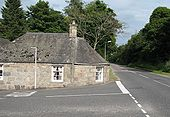 Old Toll Cottage, Monymusk - Geograph - 919033.jpg