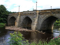 The stone road bridge at Yarm - Geograph - 489779.jpg