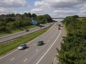 M3 through Winchester - Geograph - 519681.jpg