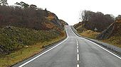 The new alignment of the A830 - Geograph - 1717835.jpg