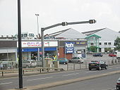 A15 Lincoln, Canwick Road Tidal Flow - Coppermine - 12566.JPG