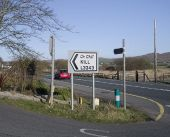 Direction sign near Dunfanaghy - Geograph - 4427457.jpg