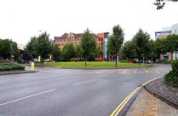 Temple Circus roundabout - Geograph - 1444205.jpg