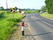 Road junction north of Great Waldingfield - Geograph - 185425.jpg