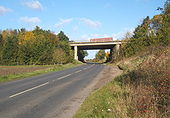 Bridge taking the B1113 under the A14 - Geograph - 1008328.jpg
