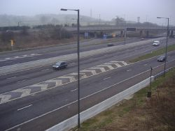 M1 Motorway southbound, Elstree (C) David Howard - Geograph - 2238454.jpg