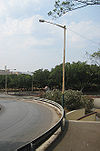 Route 22 trumpet interchange in Valletta, Malta - Coppermine - 18978.jpg