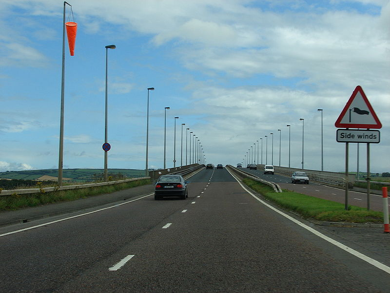 File:A515 Foyle Bridge Approach - Coppermine - 15751.jpg