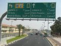 Dubai A-road sign - Coppermine - 13891.JPG