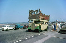 Open top bus on Morecambe Promenade - Geograph - 657954.jpg