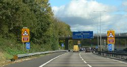 Approaching M5 Roundabout - Coppermine - 20486.jpg