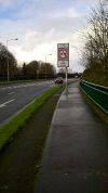 20160130-1414 - No Overtaking sign, N52 Dundalk - 54.009486N 6.391978W.jpg