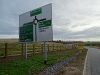 B979 - Stonehaven Junction - roundabout advance direction sign.jpg