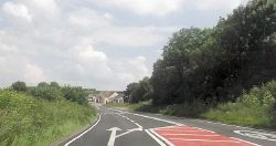 Garage and junction at Camel Cross - Geograph - 4046299.jpg