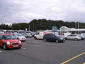 Burton-in-Kendal, services on the M6 - Geograph - 571161.jpg