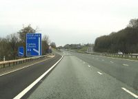 Junction 42 on the M6 - Geograph - 1867706.jpg