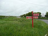 The Red Post, Launcells - Geograph - 1368912.jpg