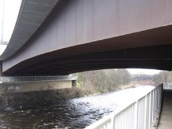 M74 - Motorway Bridge - Geograph - 5317057.jpg