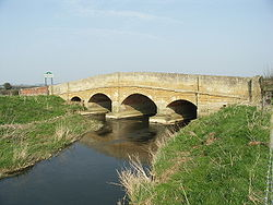 Bridge on the County Boundary - Geograph - 385899.jpg