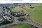 Maryburgh Roundabout - aerial from East.jpg