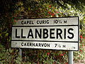 Pre Worboys sign at the entry point of Llanberis - Coppermine - 4707.jpg