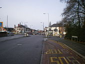 Fighting Cocks road junction and lights - Geograph - 1119652.jpg