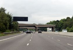 M1 northbound, bridges of junction 35 - Geograph - 4031064.jpg