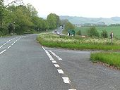 Old A38 - Halt Major Road Ahead - Coppermine - 18244.jpg