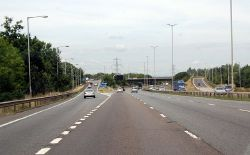 M4 westbound Junction 12 - Geograph - 3626229.jpg