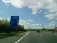 M74 at Junction 15 - Geograph - 1846737.jpg