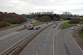 The M1-M12 near Portadown - Geograph - 350735.jpg