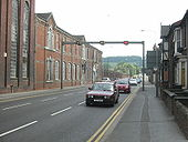 A15 Lincoln, Canwick Road Tidal Flow - Coppermine - 12562.JPG