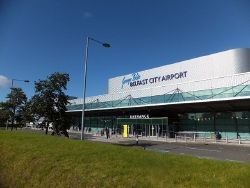 Entrance to George Best Belfast City Airport - Geograph - 3145806.jpg