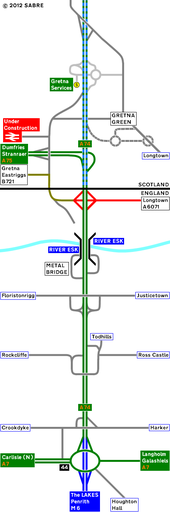 93 Strip Map of the A74 I - Coppermine - 2269.JPG