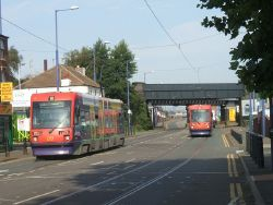 Trams on the Bilston Road - Geograph - 236002.jpg