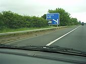 A45 Daventry Advance Direction Sign - Coppermine - 12325.jpg