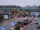 Demolition of North Road bridge - Geograph - 1528672.jpg